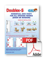 Doublex-S Fitting Instructions